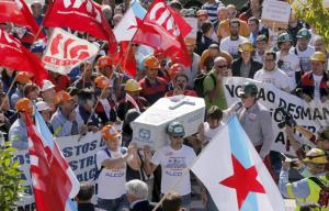 Workers protest - Alcoa