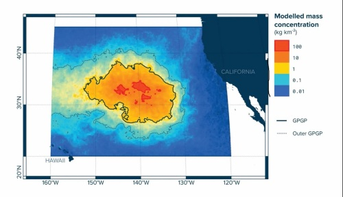 plastic concentration off California - Washington Post
